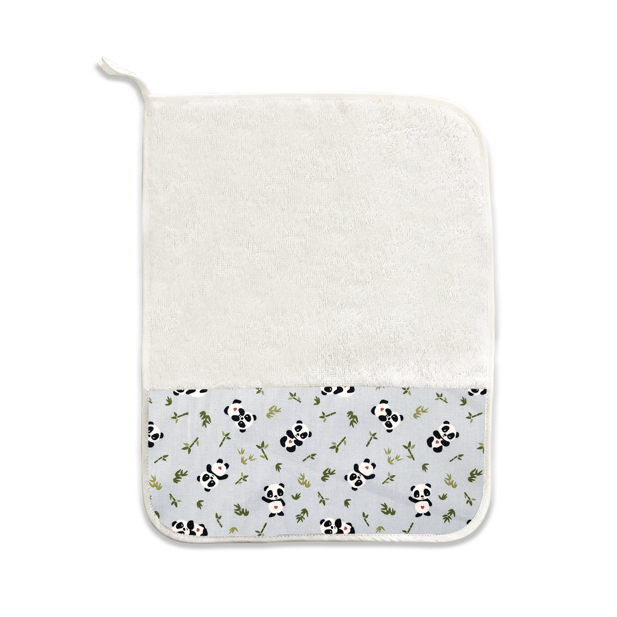 Asciugamano Panda Innamorati e Bamboo