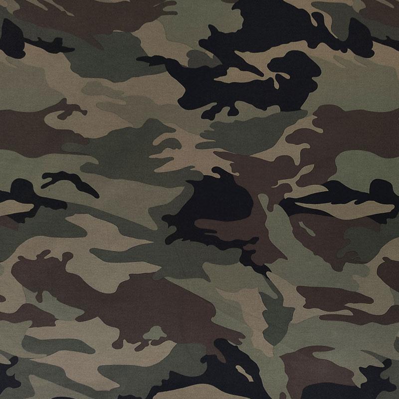 Tessuto Cotone Elasticizzato Special Militare