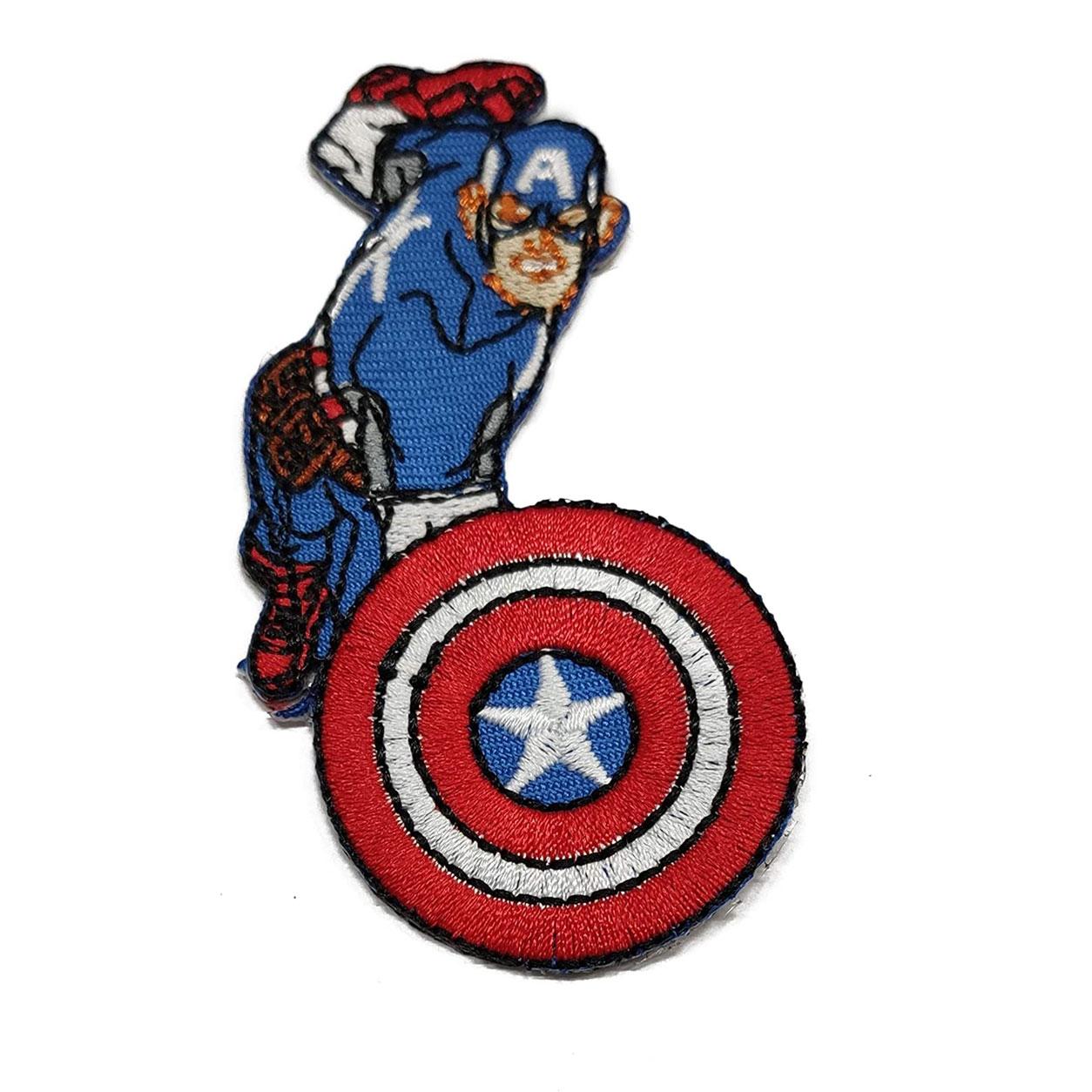 Applicazione Termoadesiva Marvel Captain America