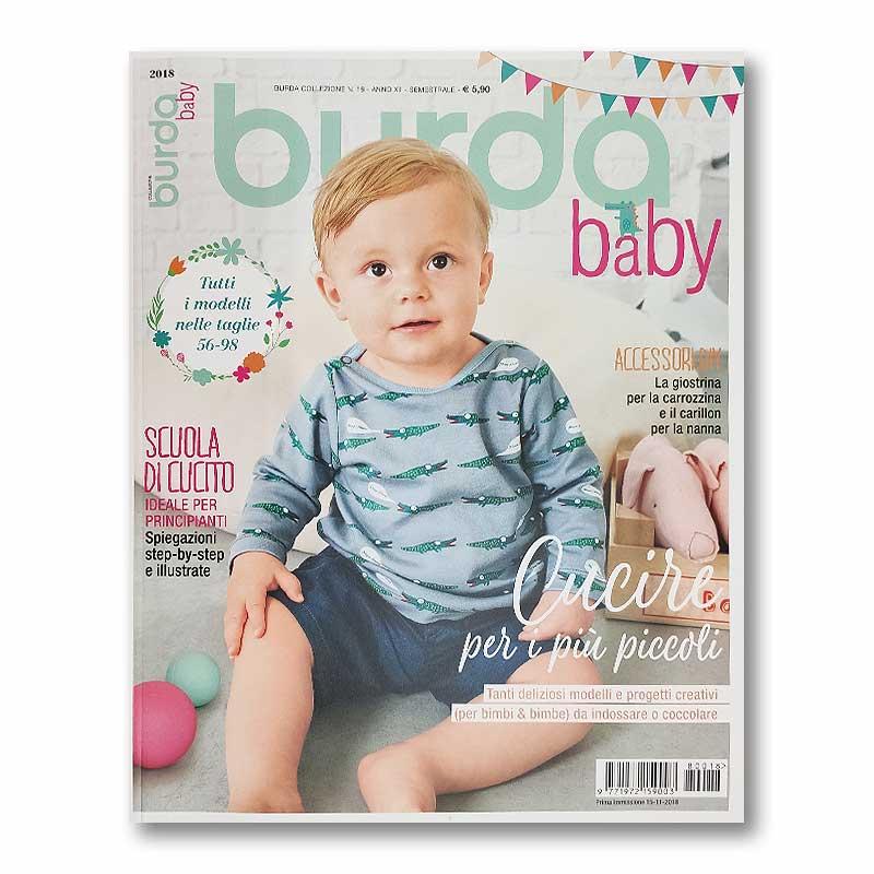 Rivista Burda Baby - Abbigliamento, Giochi e Accessori nelle Taglie 56-98