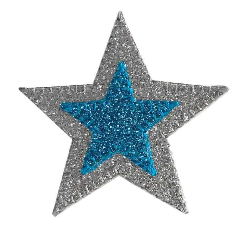 Applicazione Stella Glitter