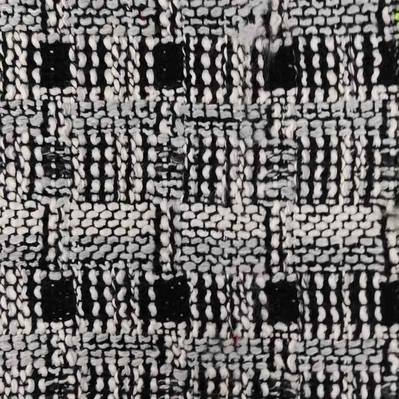 Tessuto Chanel Pesante Bianco e Nero