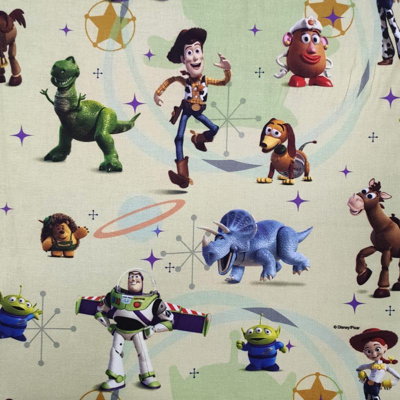 Tessuto Cotone Disney Toy Story