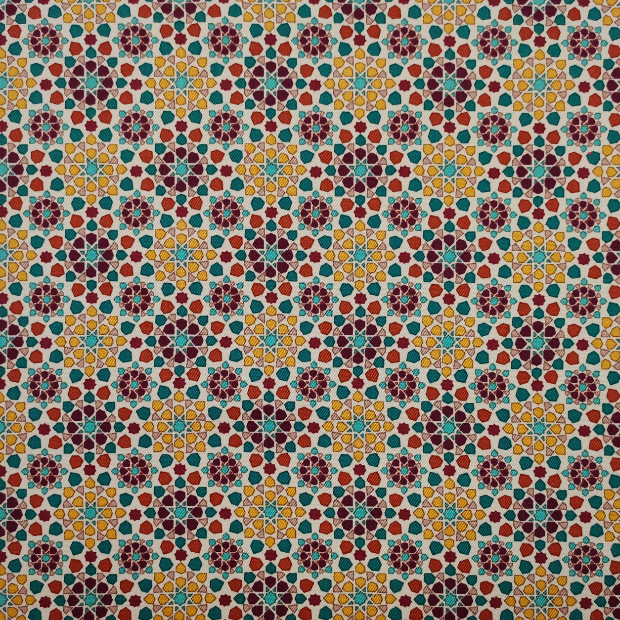 Tessuto Caldo Cotone Moda Multicolor