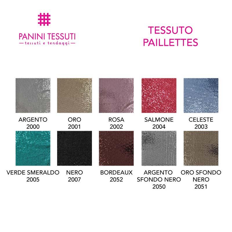 Tessuto in Paillettes
