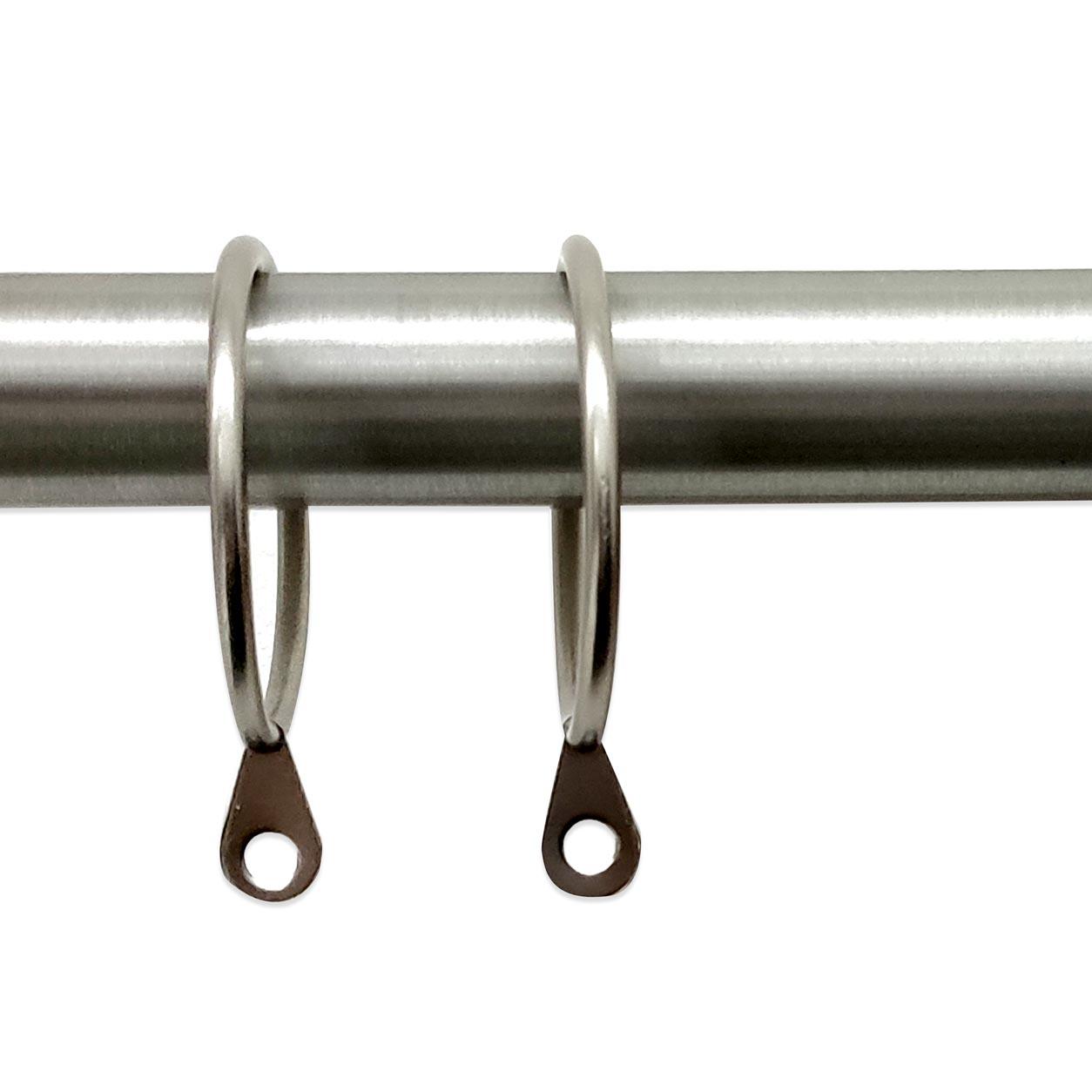 Anelli per Bastoni Diametro 36 mm - Satinato - 10 pz