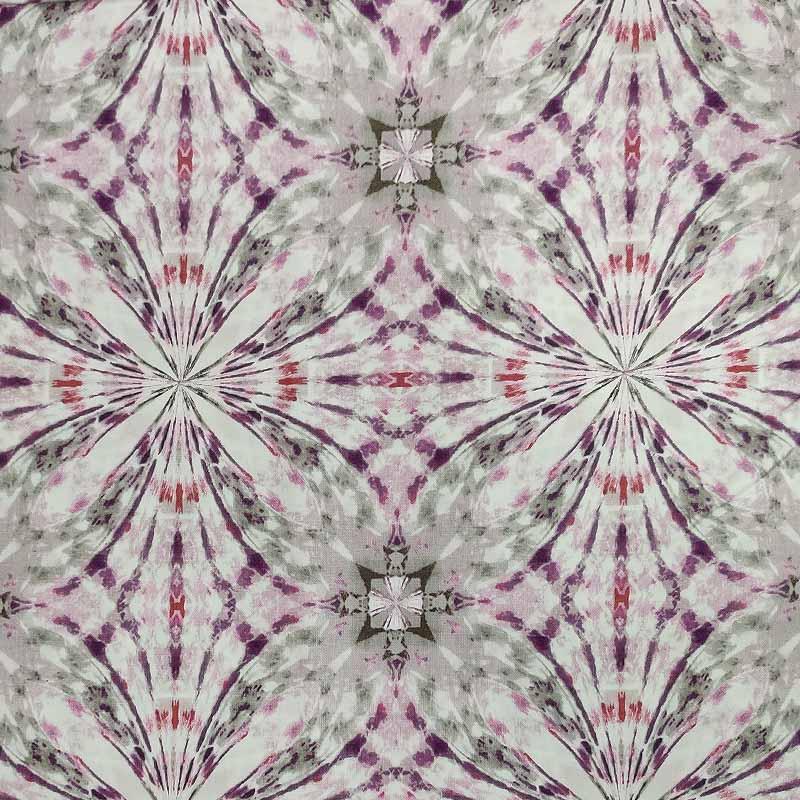 Tessuto Gutermann Flowers Hypnose Violet