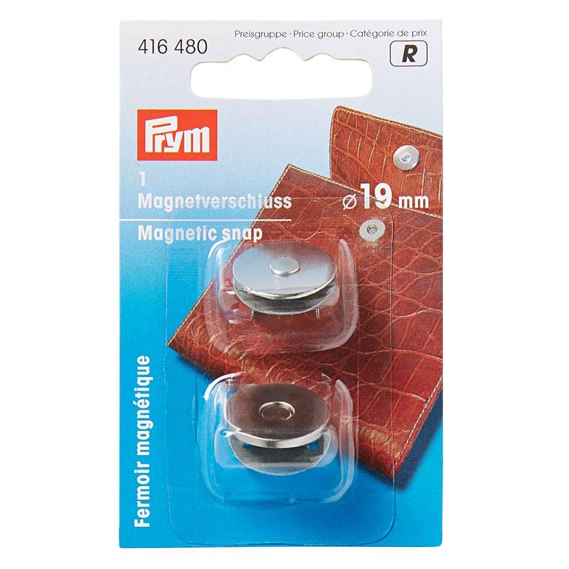 Chiusura Magnetica Prym Argento 19 mm