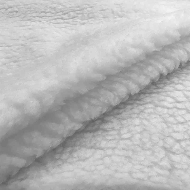 Tessuto Pelliccia Agnello Bianco