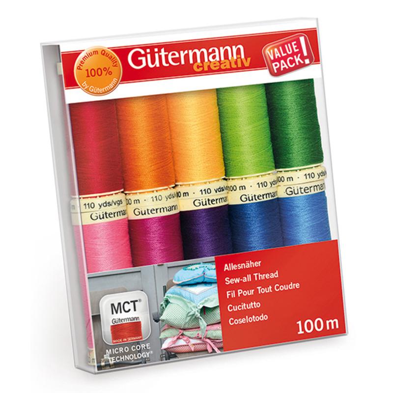 Gutermann Cucitutto Creative Rainbow 10 Bobine