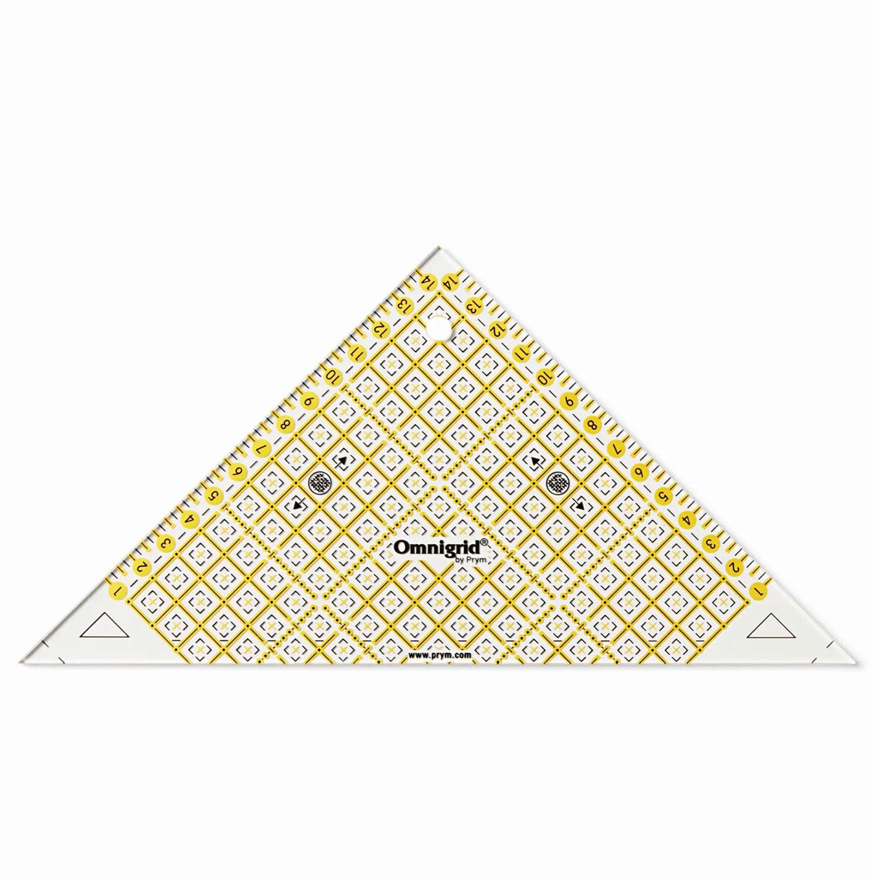 Triangolo Prym con Scala in cm 25 x 12