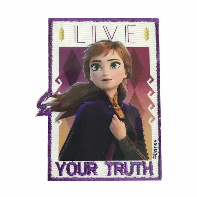 Applicazione Termoadesiva Quadrata Marbet Disney Frozen Anna