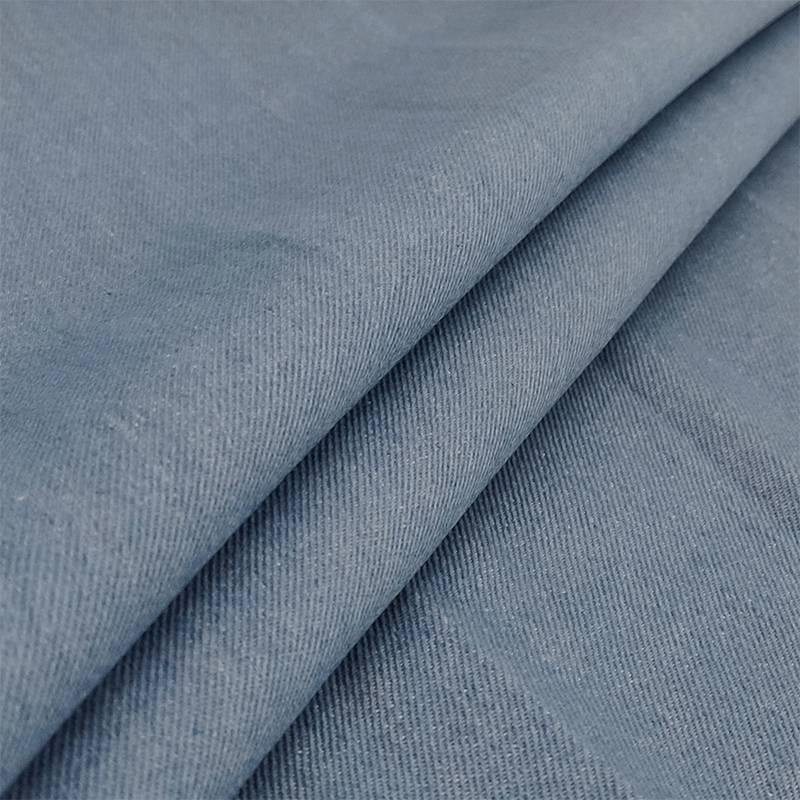 Tessuto Jeans Lavato Chiaro