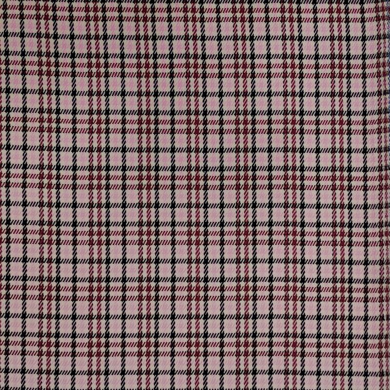 Tessuto Tartan Moda Rosa