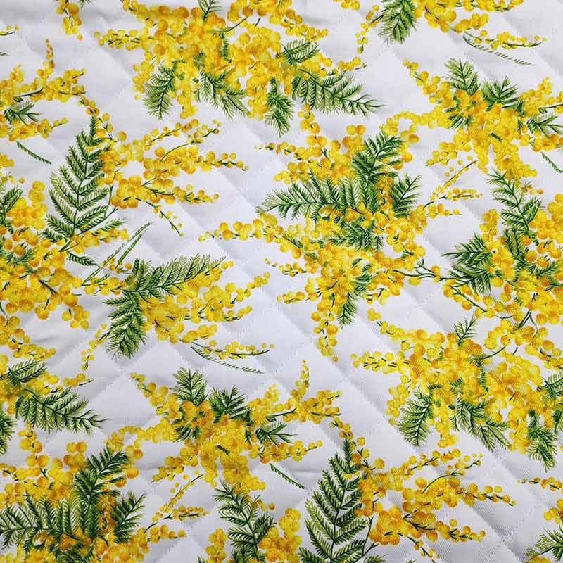 Tessuto Trapuntato Mimose