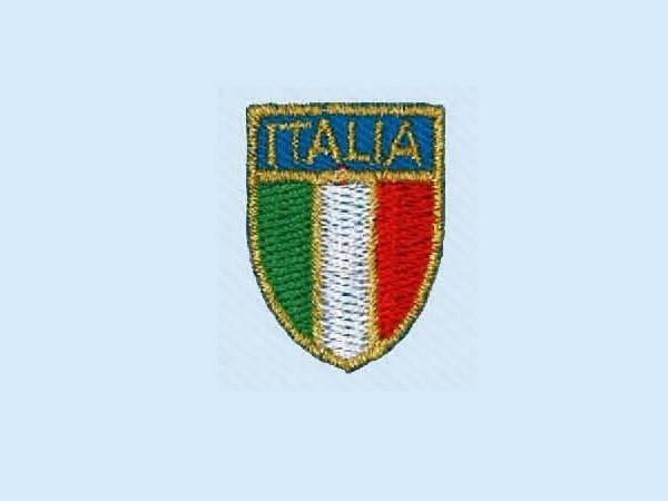 Applicazione Stemma Italia Oro Piccolo