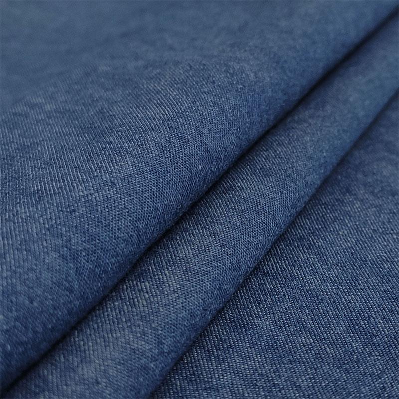 Tessuto Jeans Medio Scuro