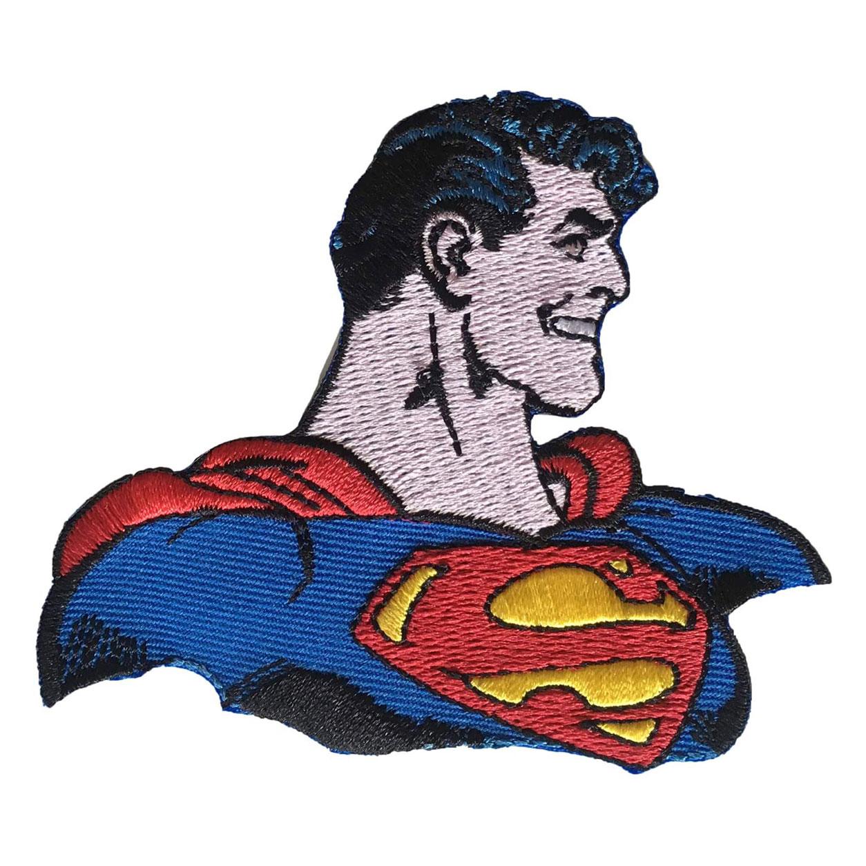 Applicazione Termoadesiva Busto Superman