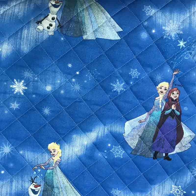 Trapunta Disney Frozen Blu