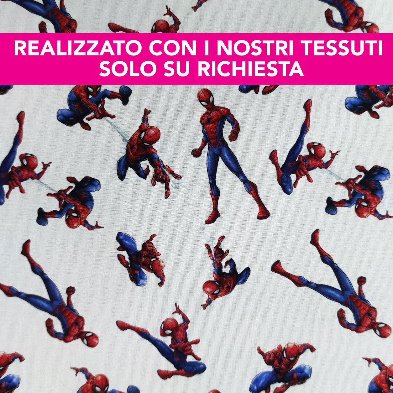 Tovagliolo Personalizzato Spiderman Grande