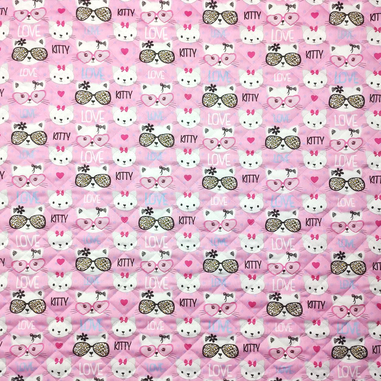 Trapunta Fantasia Kitty Love