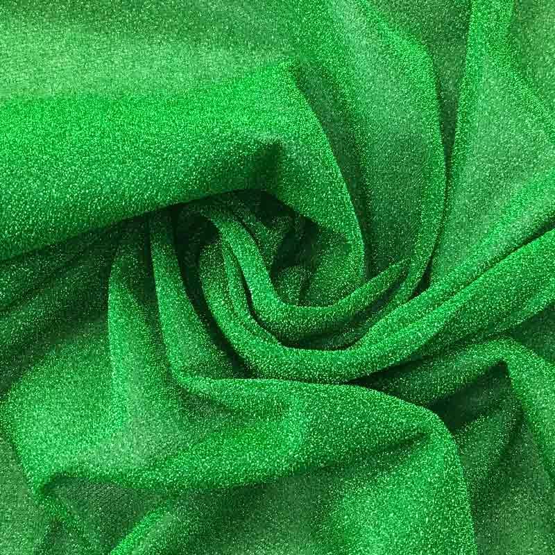 Maglina Lurex Elasticizzata Verde