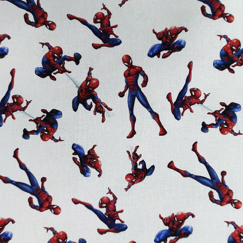 Tessuto Cotone Marvel Spiderman Grande