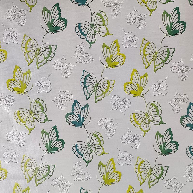 Tovaglia Plastificata Farfalle Sfumate