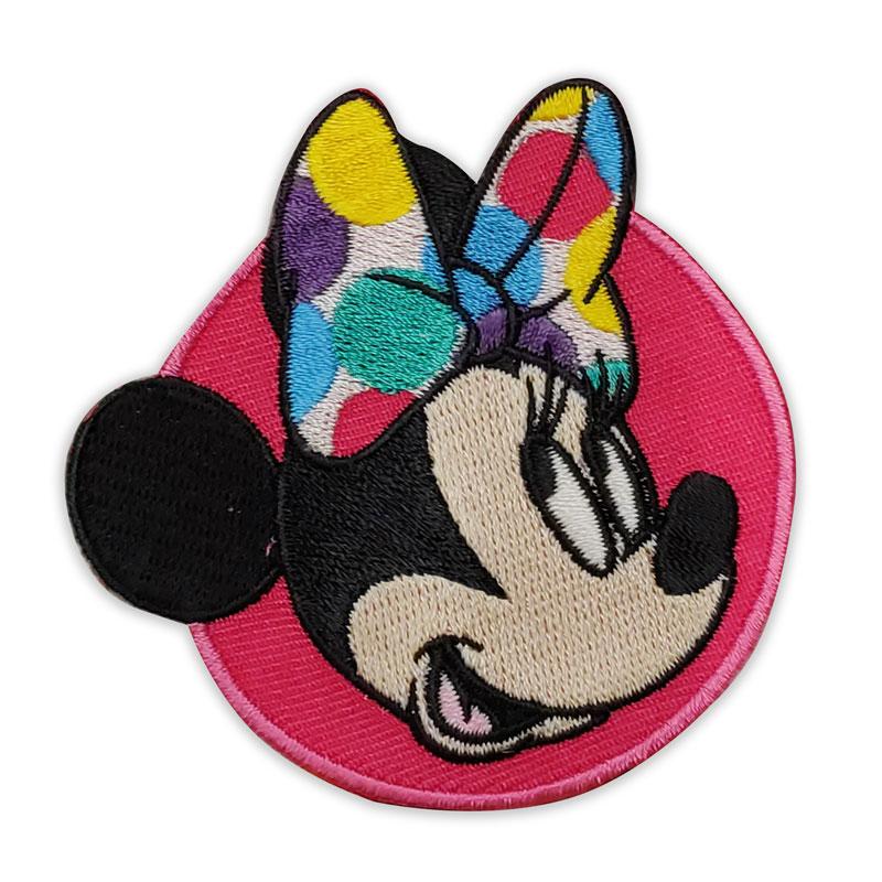 Applicazione Autotermoadesiva Marbet Disney Minnie con Fiocco