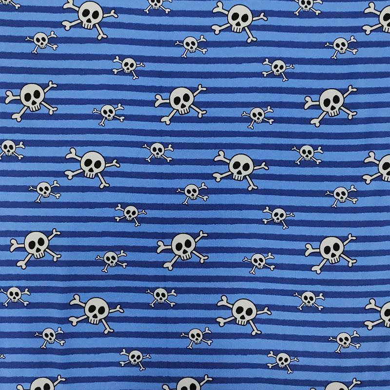 Jersey Teschi Righe Azzurre
