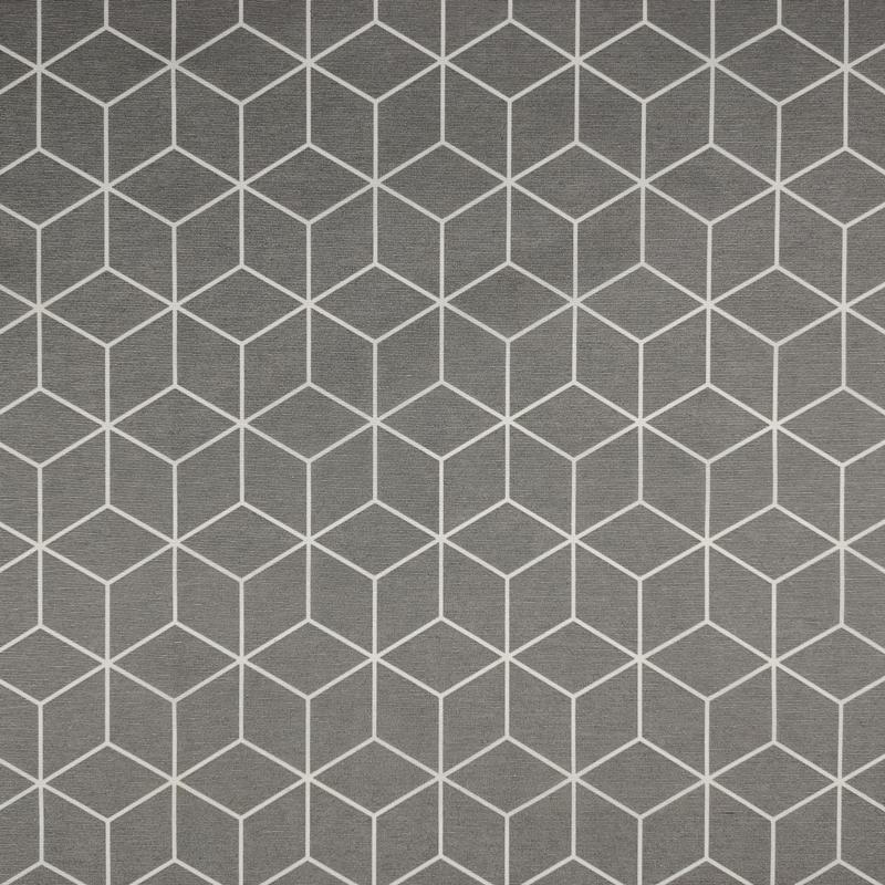 Tovaglia Resinata Geometrica Sfondo Grigio