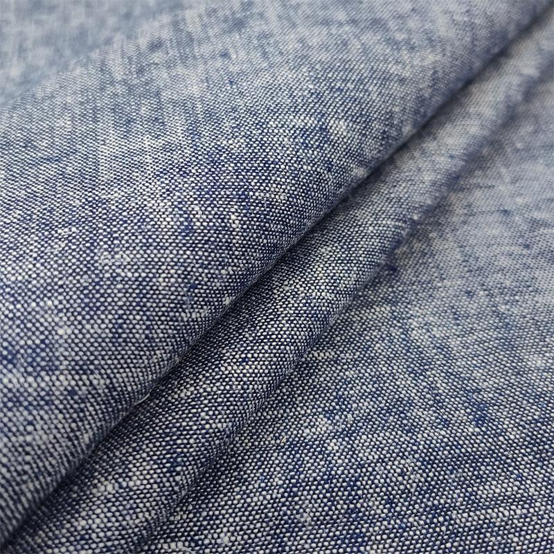 Tessuto Jeans Leggero Lavato Blu