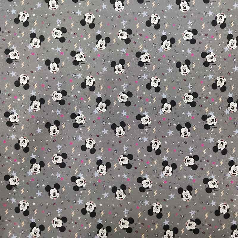 Tessuto Cotone Disney Mickey Mouse Mini