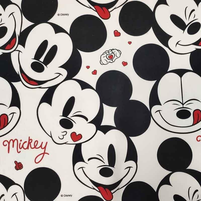 Sacco Nanna Estivo Personalizzato Faccine Mickey Mouse Bianco