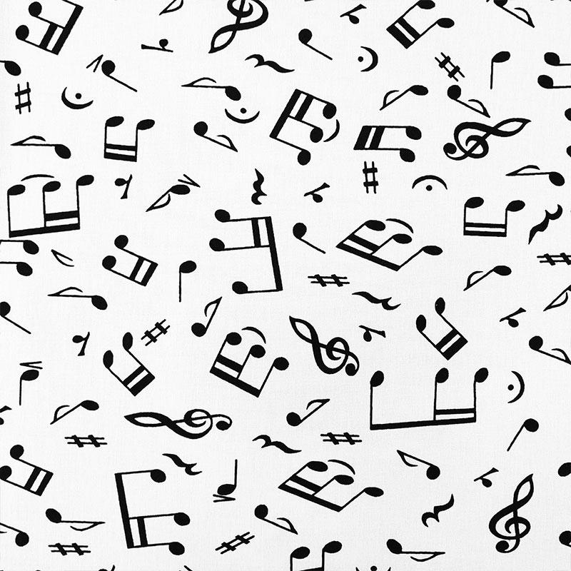 Tessuto Cotone Sinfonia Musicale