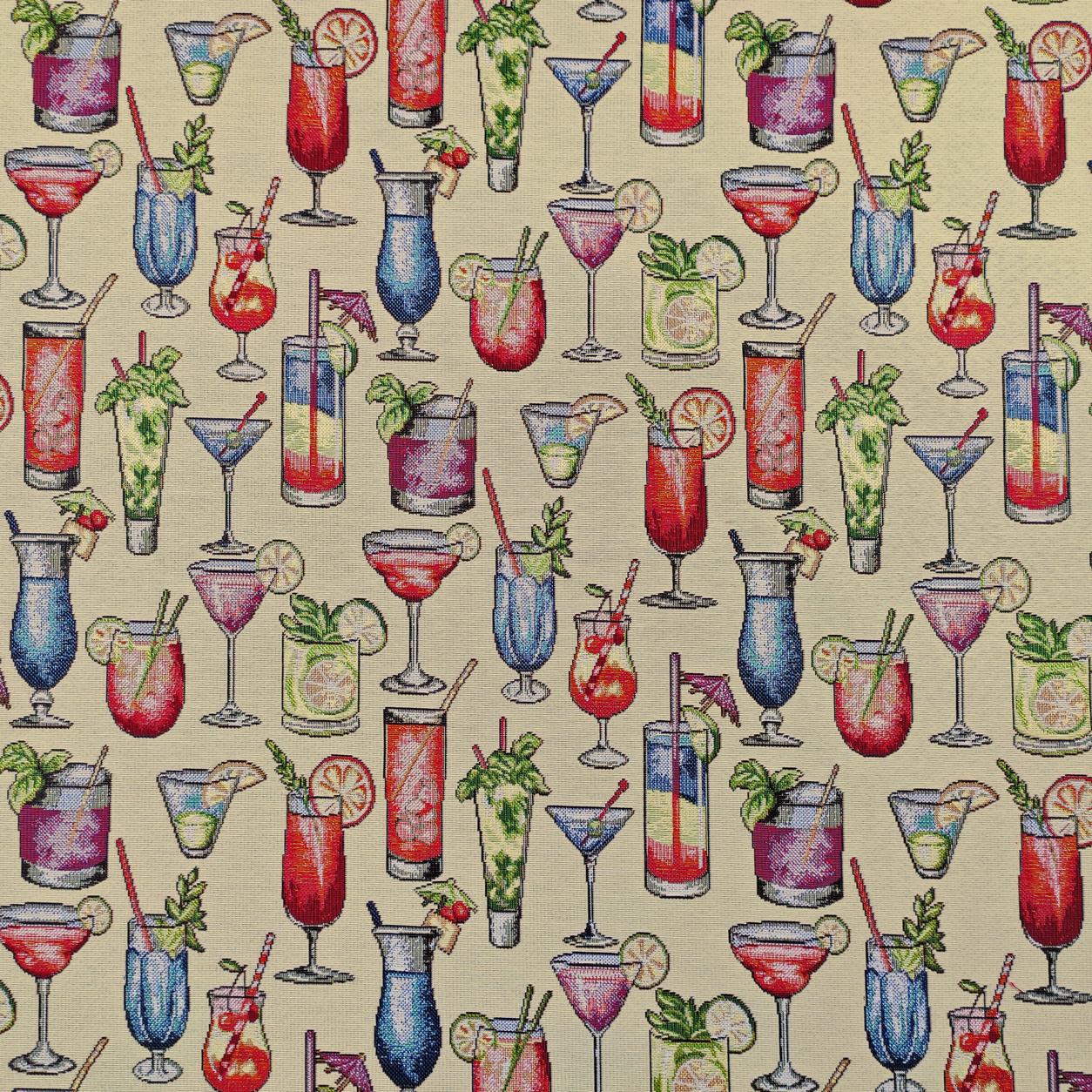 Tessuto Jacquard Fantasia Bicchieri da Cocktail